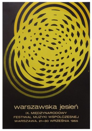 ZAMECZNIK Wojciech - Warszawska Jesień. IX. Międzynarodowy Festiwal Muzyki Współczesnej. Warszawa, 21-...