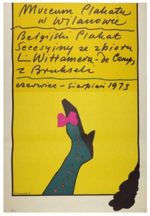 TOMASZEWSKI Henryk - Muzeum Plakatu w Wilanowie. Belgijski plakat secesyjny ze zbioru L....