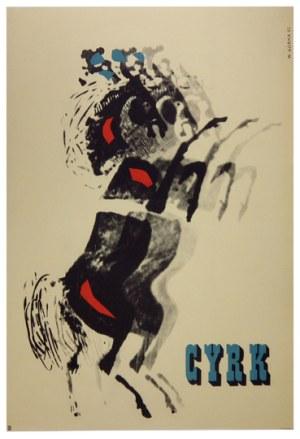 GÓRKA Wiktor - Cyrk. 1962.