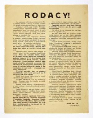 1920. Wojna polsko-bolszewicka. Powstanie Armii Ochotniczej