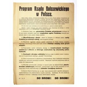 1920. Próba utworzenia przez bolszewików polskiego rządu komunistycznego