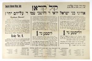 1928. W wyborach parlamentarnych głosy żydowskie za BBWR