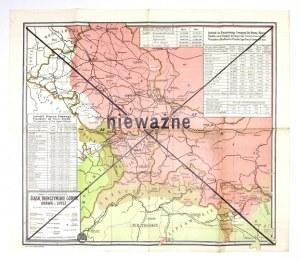 [ŚLĄSK]. Śląsk, Trenczyńskie Górne, Orawa i Spisz na podstawie spisu ludności w r. 1910....