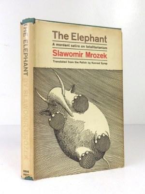MROZEK Slawomir - The Elephant. Translated from the Polish by Konrad Syrop. Illustrated by Daniel Mroz....
