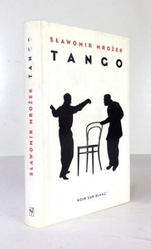 S. Mrożek - Tango. 2010. Z podpisem autora