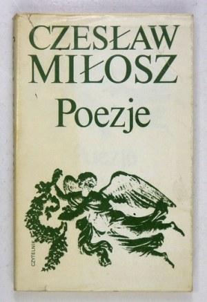 MIŁOSZ C. – Poezje. 1981. Z dedykacją autora.