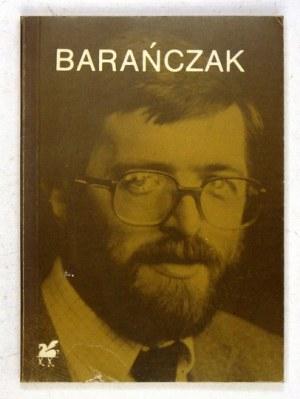 BARAŃCZAK S. – Poezje wybrane. 1990. Z dedykacją autora.