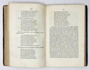 BARTOSZEWICZ Juljan - Historja literatury polskiej potocznym sposobem opowiedziana. Warszawa 1861. M. Glücksberg. 8,...