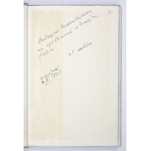 A. Janta - Znak tożsamości. 1958. Z podpisem autora.