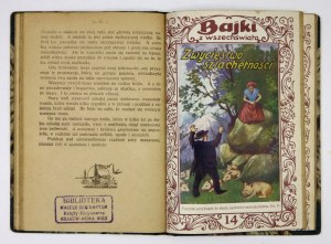 BAJKI z Wszechświata. [Nr] 11-15. [Grudziądz. ca 1930]. W. Kulerski. 16d, s. 32; 32; 32; 31, [1]; 32. razem opr....