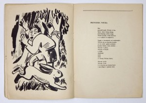 KOPROWSKI Jan - Wiersze dla dzieci. Ilustrował Jerzy Kajetanski. Brunświk 1945. Wyd.