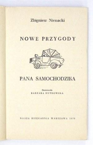 Z. Nienacki - Nowe przygody Pana Samochodzika. 1970. Wyd. I.