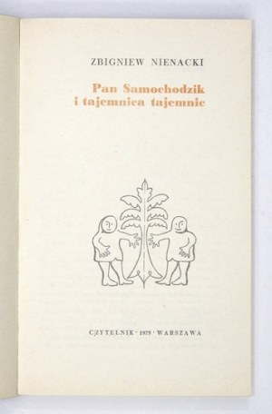 Z. Nienacki -Pan Samochodzik i tajemnica tajemnic. 1975. Wyd. I.