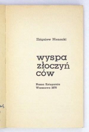 NIENACKI Zbigniew - Wyspa Złoczyńców. Ilustrował Mieczysław Kwacz. Okładkę i kartę tyt....