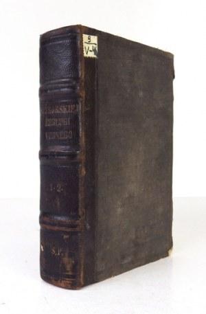 VERNE J. - 20.000 mil podmorskiej żeglugi. 1870 - pierwsze polskie wydanie.