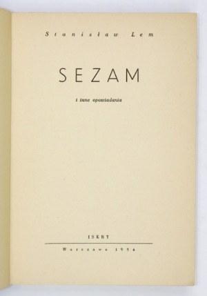 LEM S.– Sezam. Wyd. I. Ilustracje J. Młodożeńca.