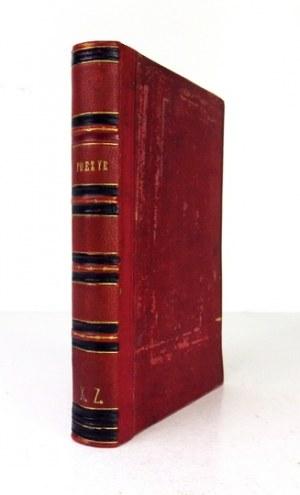[SOWIŃSKI Leonard] - Poezye S. [krypt.]. T. 1-2. Poznań 1875. Druk. J. I. Kraszewskiego (Dr. W. Łebiński). 16d, s....