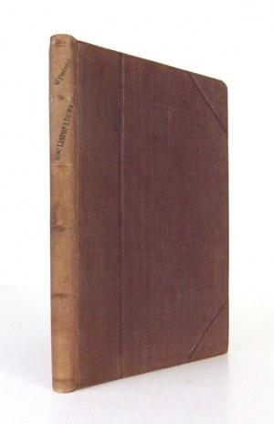 WYSPIAŃSKI S.– Noc listopadowa. 1904. Pierwsze wydanie.