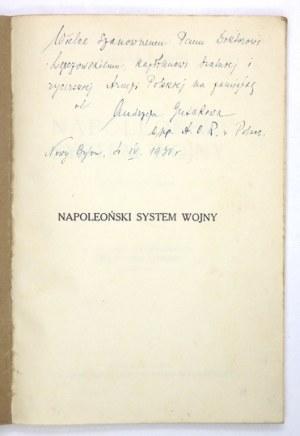 CAMON Hubert] - Napoleoński system wojny. Z 47 szkicami w tekście. Z francuskiego przetłumaczył Franciszek Lipiński. War...