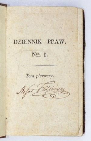 DZIENNIK Praw. T. 1. 1815-1816.