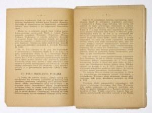 R. Goldman - Bój Warszawy. 1945. Wydanie konspiracyjne.