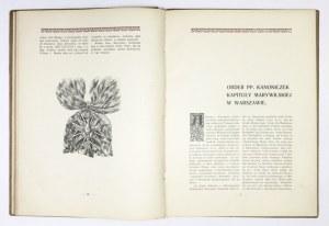 SADOWSKI Henryk - Ordery i odznaki zaszczytne w Polsce. Warszawa 1904. Druk. W. Maślankiewicza. 4, s. 194, [1]. opr....