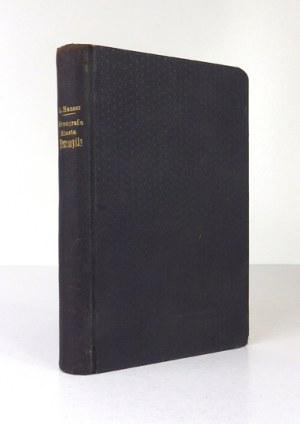 HAUSER Leopold - Monografia miasta Przemyśla. Z widokami i starożytnym planem miasta. Przemyśl 1883....