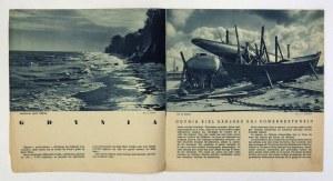 GDYNIA, Pollando. Varsovio [Warszawa] 1937. Liga Popierania Turystyki, Polaj Stataj Fervojoj [Polskie Koleje Państwowe]....
