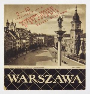 PRZYPKOWSKI Tadeusz - Warszawa. Warszawa 1937. Liga Popierania Turystyki, Polskie Koleje Państwowe. 8, s. [12]....