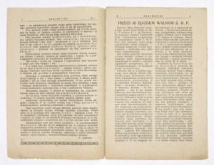 HARCMISTRZ. R. 6, nr 1: III 1923.