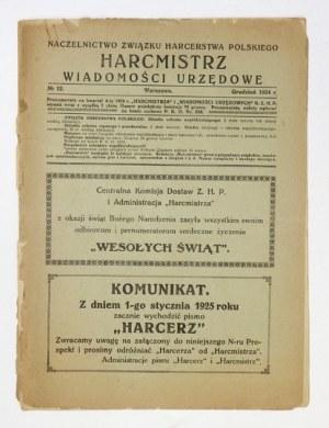 HARCMISTRZ. R. 7, nr 12: XII 1924.