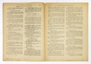 WIADOMOŚCI Urzędowe. R. 3 (VII), nr 1: I 1925.
