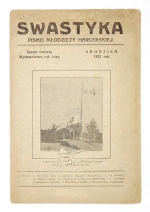 SWASTYKA. R. 1, nr 4: XII 1922.