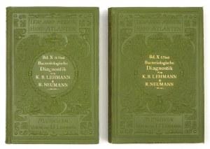 LEHMANN K[arl] B[ernhard], NEUMANN Rudolf - Atlas und Grundriss der Bakteriologie und Lehrbuch der speciellen bakteriolo...