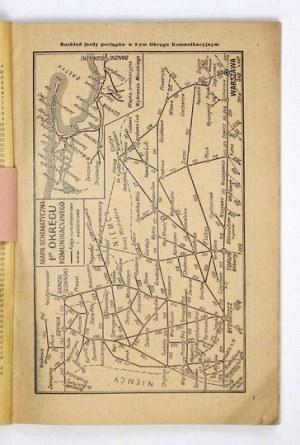 ROZKŁADjazdy pociągów w I i II okręgach komunikacyjnych ważny od 15.V. do 7.X....