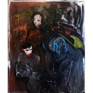 Patryk Różycki, Morderstwo na tle malarskim, 2014