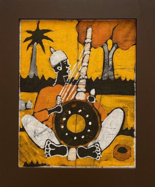 Ousman Bah, Mężczyzna grający na instrumenci