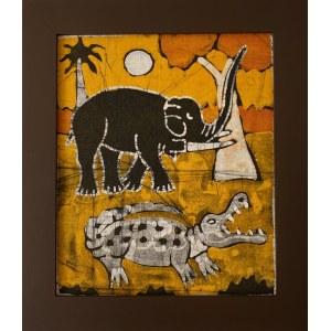 Ousman Bah, Słoń i krokodyl