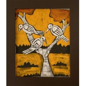 Ousman Bah, Trzy ptaki na drzewie