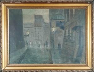 Franciszek SUNDERLAND (1 poł. XX w.), Stare Miasto w Warszawie - Nokturn