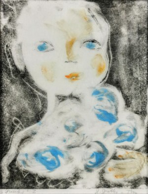 Stefania DRETLER-FLIN (1909-1994), Dziecko I, lata 50. XX w.