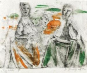 Stefania DRETLER-FLIN (1909-1994), Cyganki II, 1958