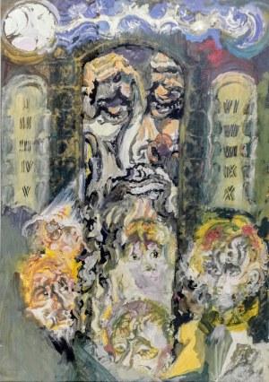 Zdzisław LACHUR (1920-2001), Mojżesz, 1991