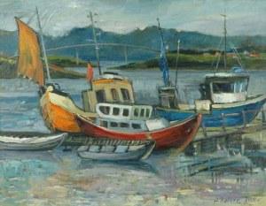 Alojzy BALCERZAK (ur. 1930), Krajobraz z Norwegii, 2000