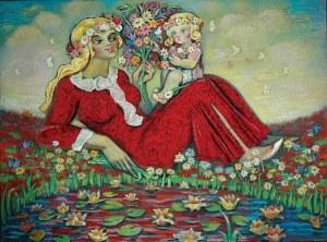 Stefan CENTOMIRSKI (ur. 1928), Nasze kwiaty, 2005