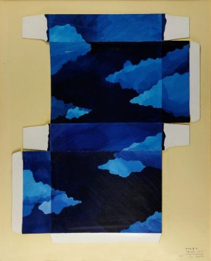 Jan SAWKA (ur. 1946 - 2012), Form # 4, Blue sky, 1980