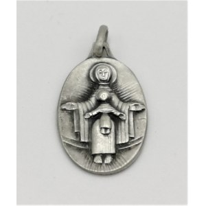 Jean LAMBERT-RUCKI (1888 -1967), Medalik: Madonna z Dzieciątkiem