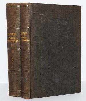 OSTROWSKI ANTONI - ŻYWOT TOMASZA OSTROWSKIEGO...1-2, 1873, z księgozbioru powstańca