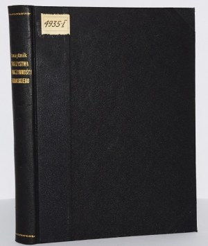 PAMIĘTNIK TOWARZYSTWA DOBROCZYNNOŚCI KRAKOWSKIEGO, 1868