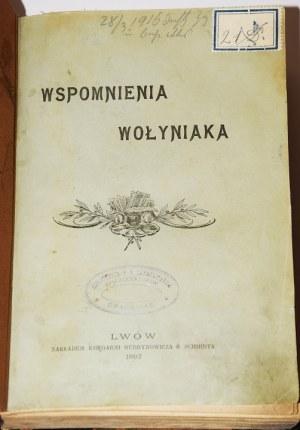 [DUNIN-KARWICKI JÓZEF]. WSPOMNIENIA WOŁYNIAKA, 1897